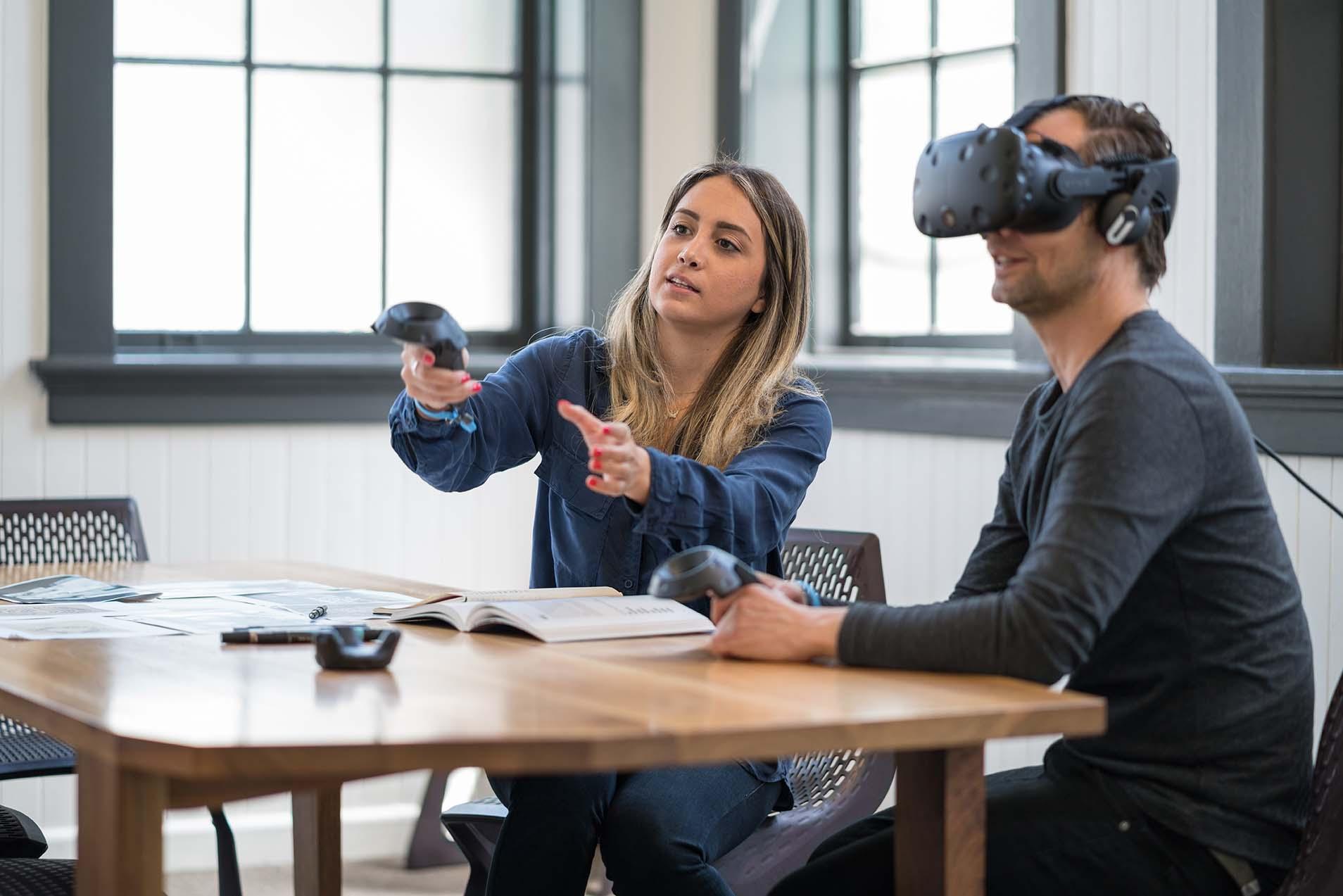 Using VR in design
